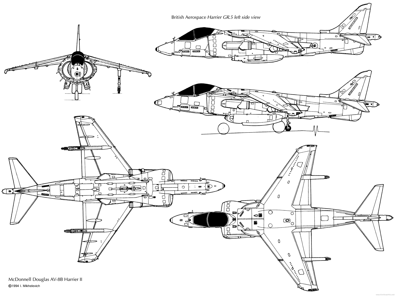 Mcdonnell Douglas Av 8b Harrier Ii