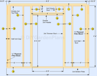 How to build the shed walls. Detailed instructions for ...