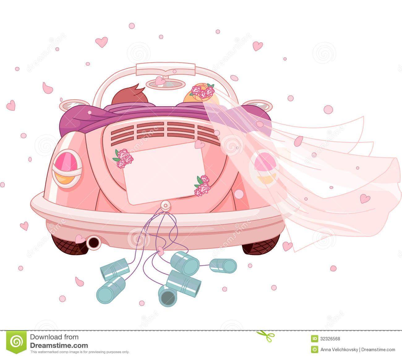 clipart wedding  Hochzeitsauto  Pinterest  Hochzeitsauto