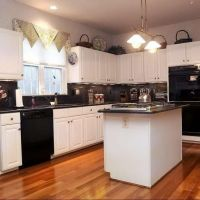 Wallpaper Kitchen Design Ideas With Black Appliances Of Pc Hd Amazing Appliances Include How To Decorate