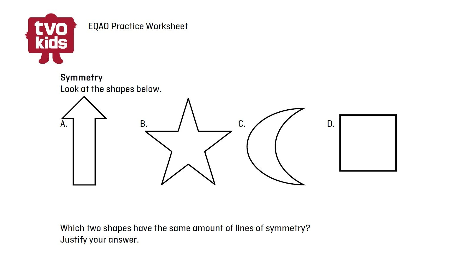 Eqao Math Worksheet