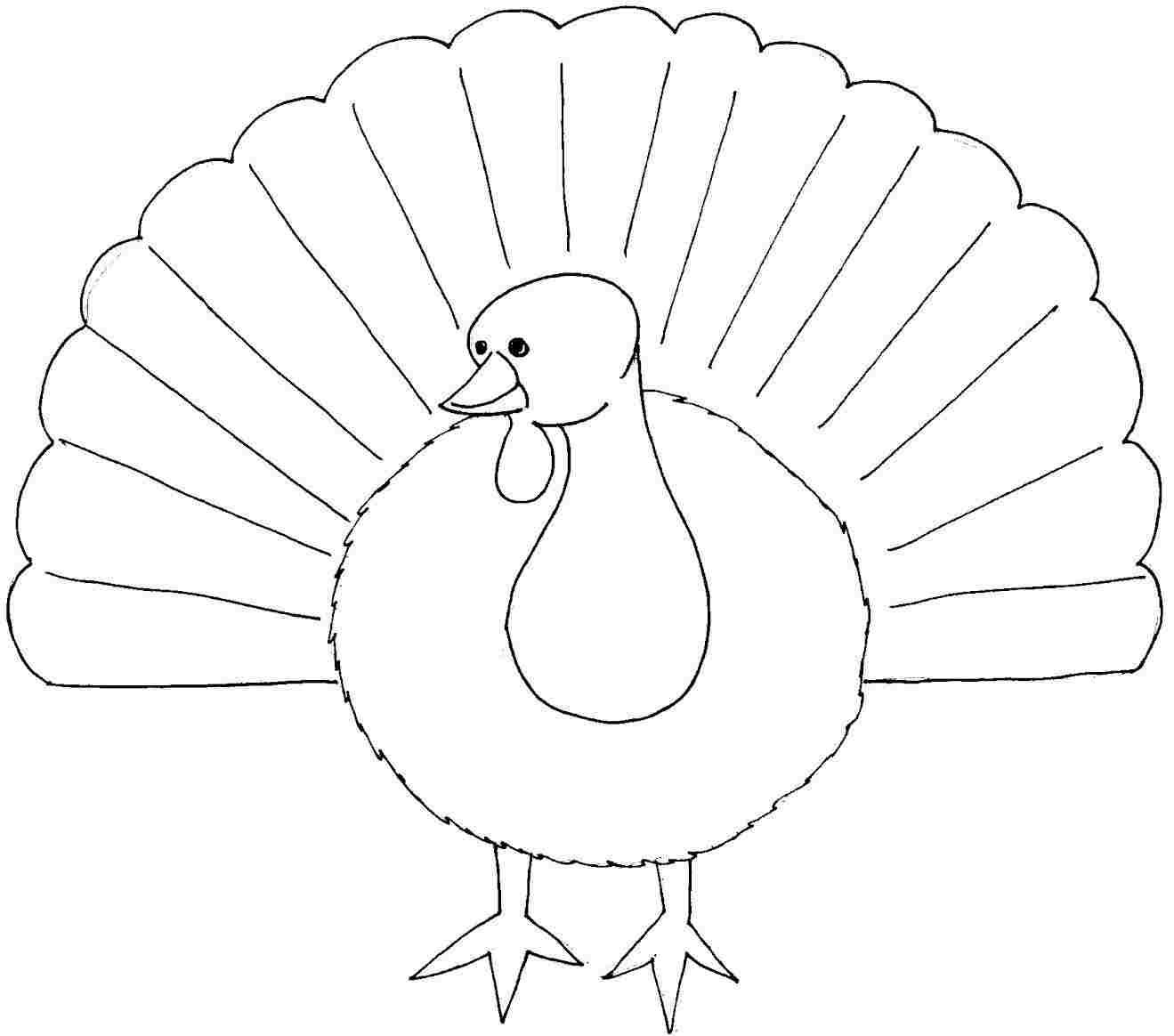 Printable Free Thanksgiving Turkey Colouring Pages For Kids Amp Boys