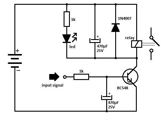 TransistorRelayDriverCircuit‬ is using the NPN transistor