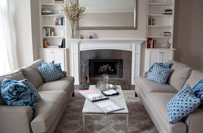 living room with two couches. Small Living Room Two Sofas Interior Design two couches in a small living room  Conceptstructuresllc com
