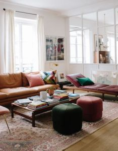 At home with sezane paris also living rooms interiors and room rh pinterest