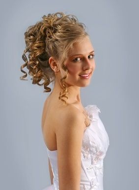 Wedding Hairstyles For Medium Length Hair Curly Hairstyle With