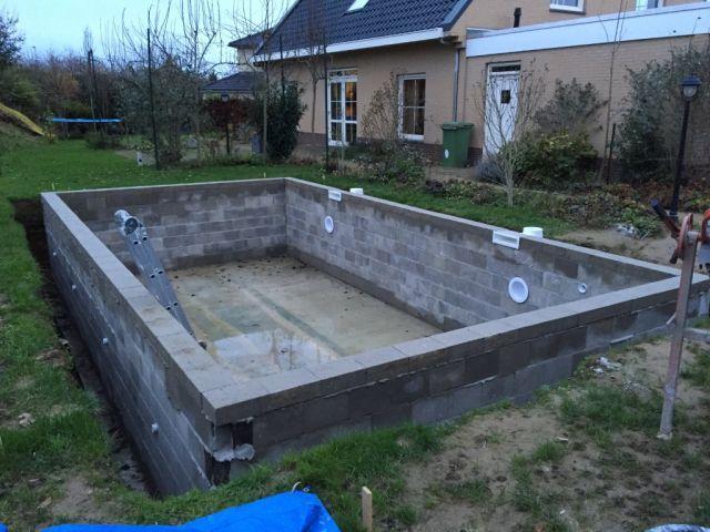 Inbouw Zwembad Maken Google Zoeken