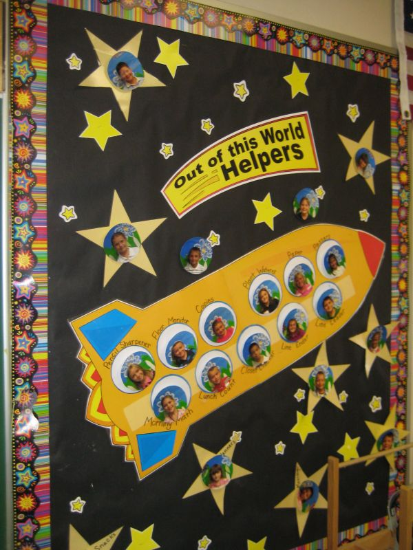 Space Theme. Checkout Great Post Bulletin Board