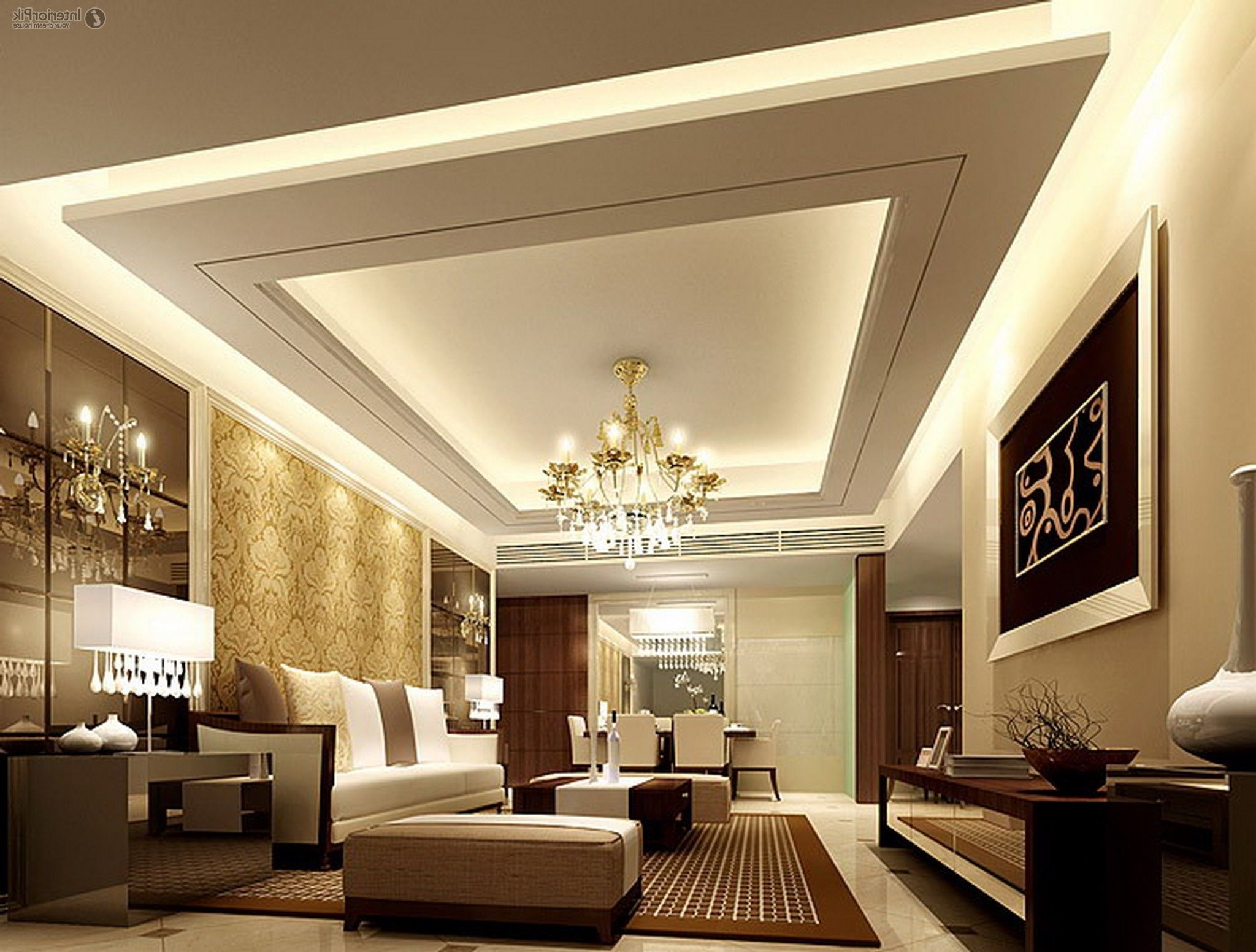 Ceiling Designs for Your Living Room  Room decor Ceilings and Room