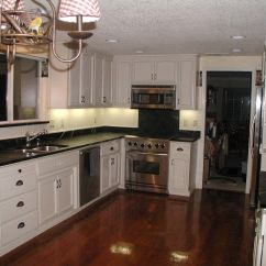 Kitchen Cabinets And Countertops Home Remodeling Kitchens With White Black