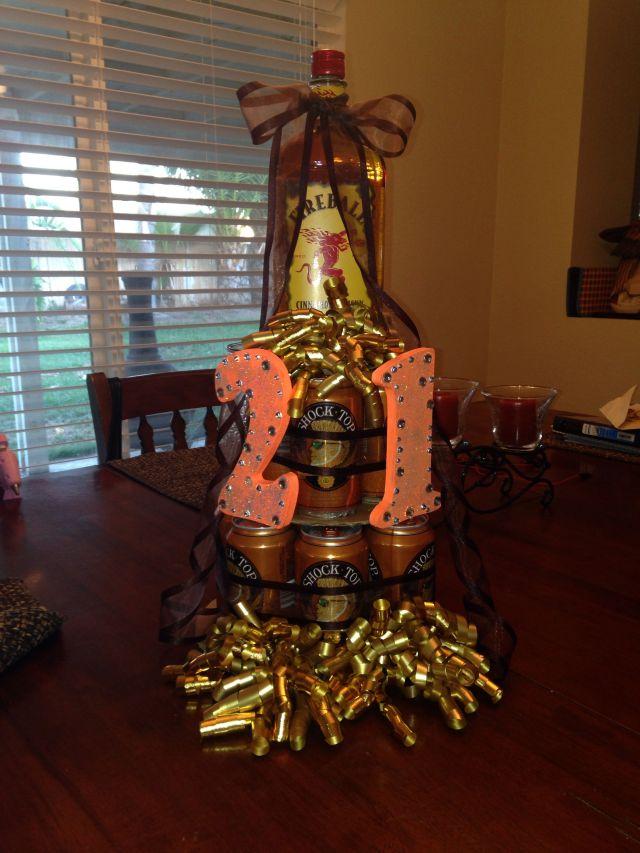 21 beer cake fireball creative birthday gifts birthday