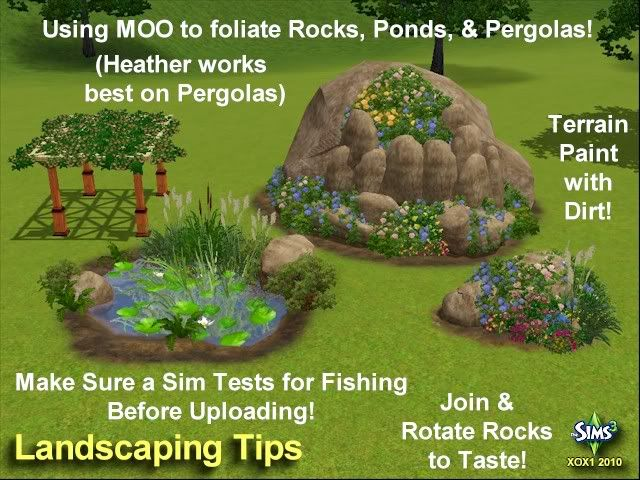 Sims 3 Landscaping Ideas Odd Sims Pinterest Creative The