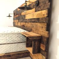 Rustic Headboard is carefully hand crafted from specially ...
