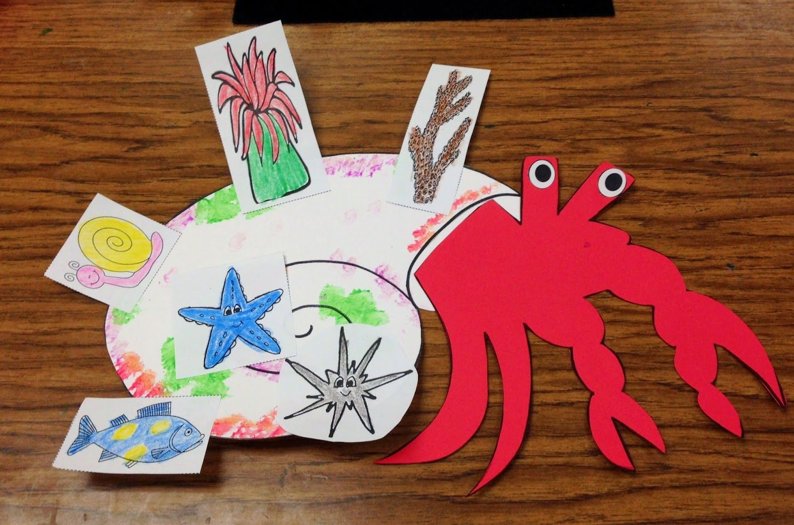 Fun In The Ocean Tons Of Math Literacy Amp Writing Activities A House For Hermit Crab