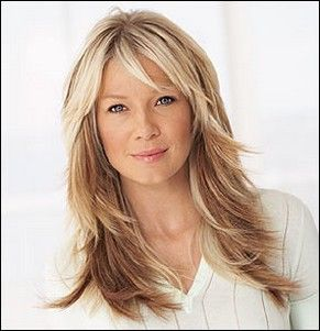 Long Layered Hairstyles Image Of Long Layered Hairstyle With