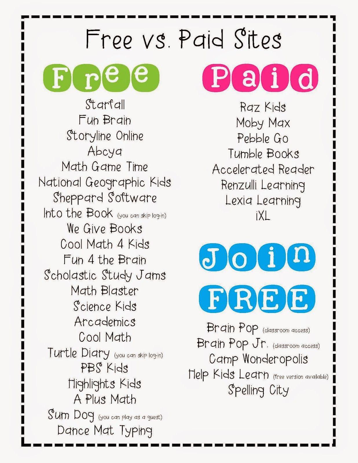 25 Best Ideas About Kindergarten Websites