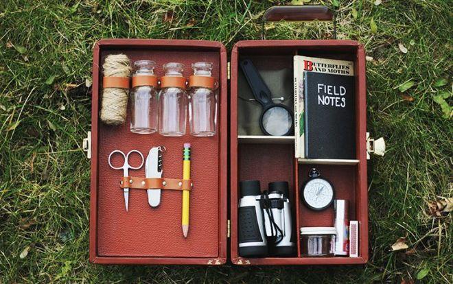 Diy explorer activity kit for creative curious kids