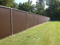 Privacy Slats in 8 ft. Tall Chain Link Fence | Chain Link ...