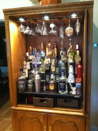 now THIS is a liquor cabinet....my next big project | My ...