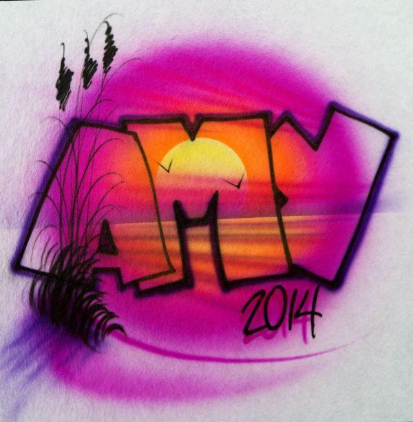 Art Top T-shirt Airbrush Pro Gary Worthington