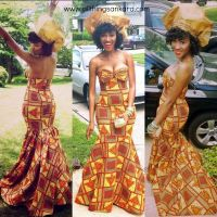 African Print Mermaid Evening Dresses | Dress images