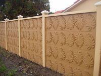 Concrete Block Fence Design | unique an exclusive design ...