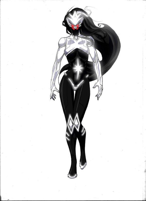 deviantART Female Superhero Characters