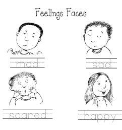 Feelings And Emotions Worksheets For Preschoolers [ 2550 x 3300 Pixel ]