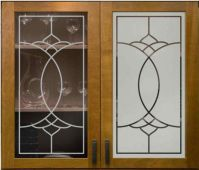 Decorations & Accessories, : Frosted Glass For Cabinet ...