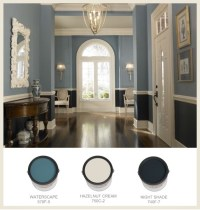 Behr paint, Waterscape is light of the blues. classic ...