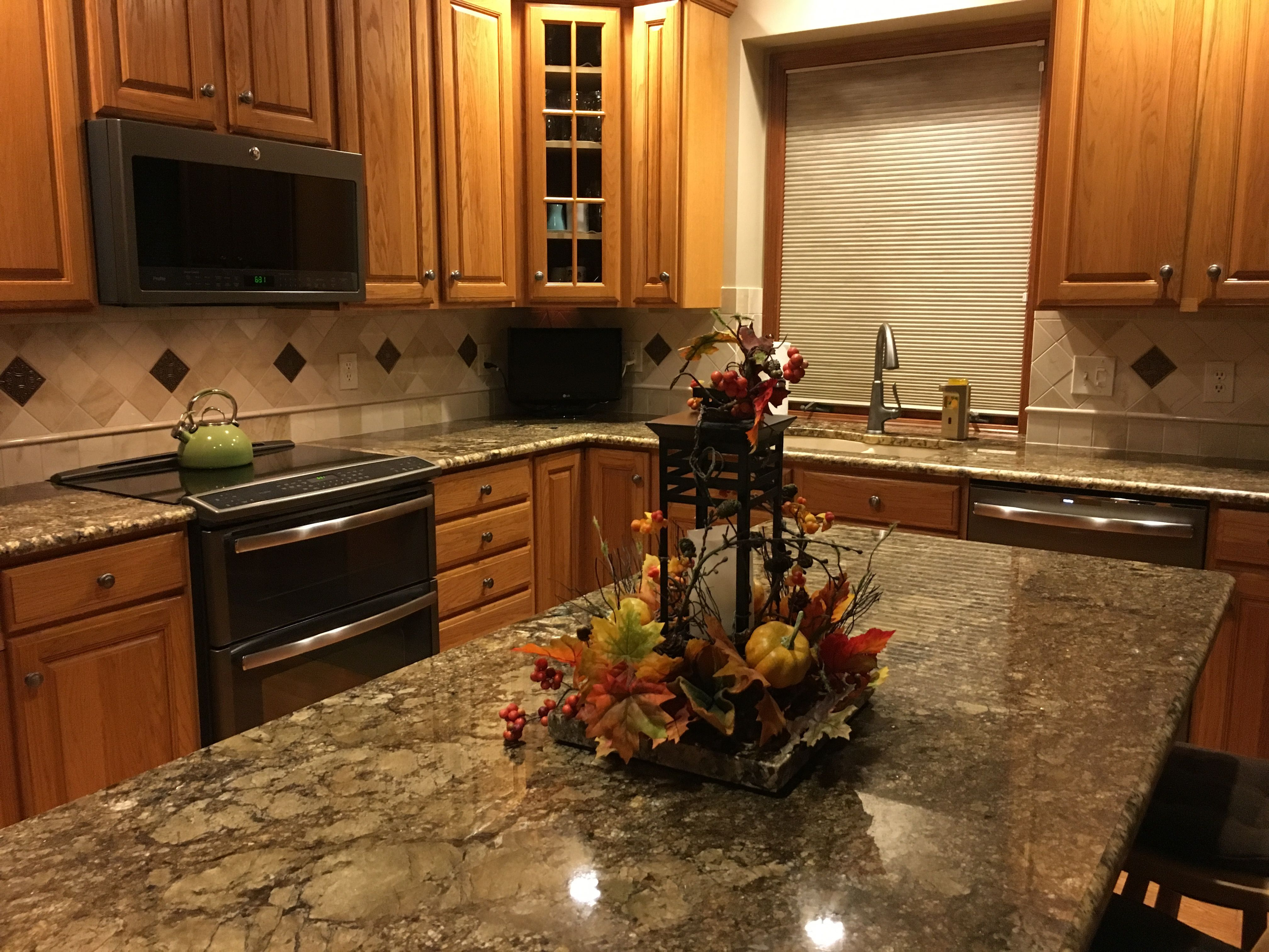 slate kitchen appliances how much is a remodel ge profile in look great my