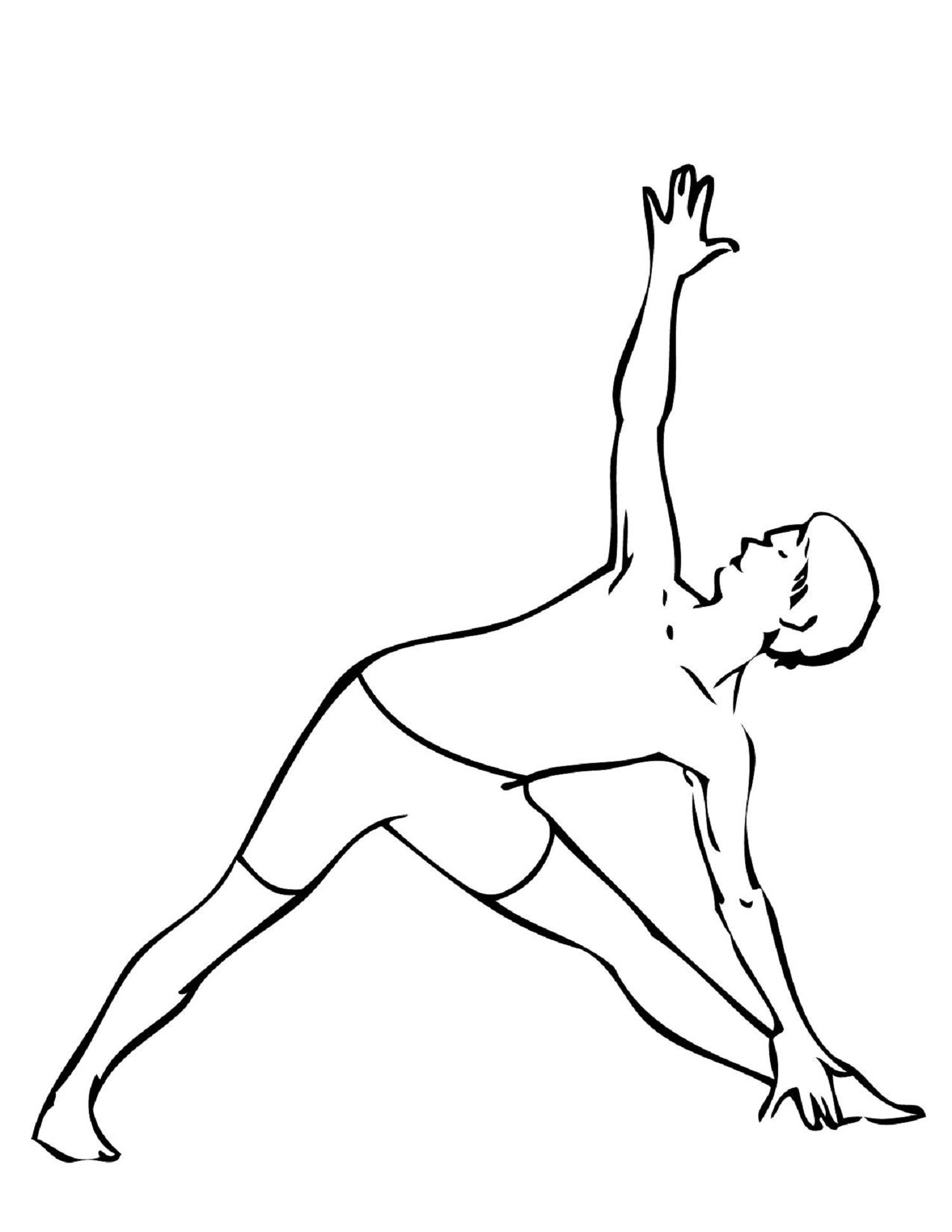 Yoga Coloring Pages For Kid Sport Introduction