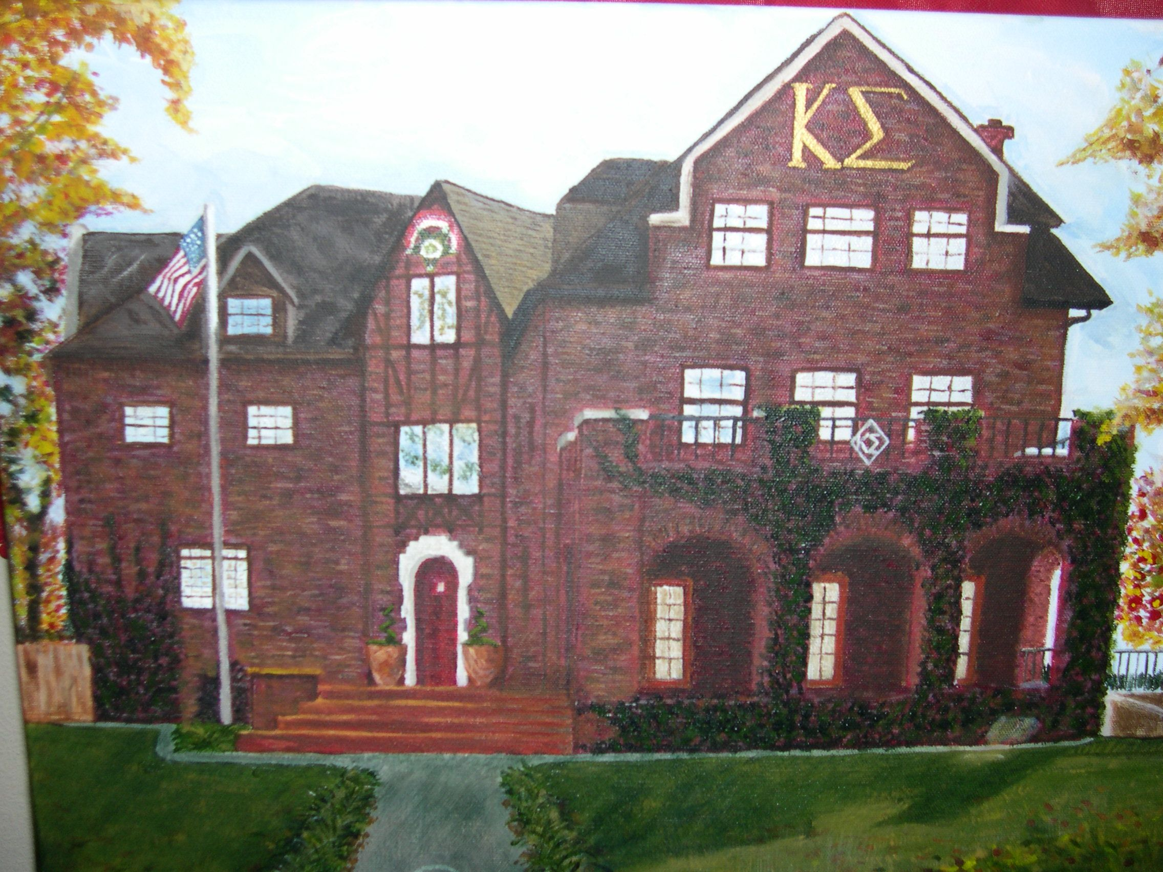 Kappa Sigma House University Of Arkansas Great T Idea For My