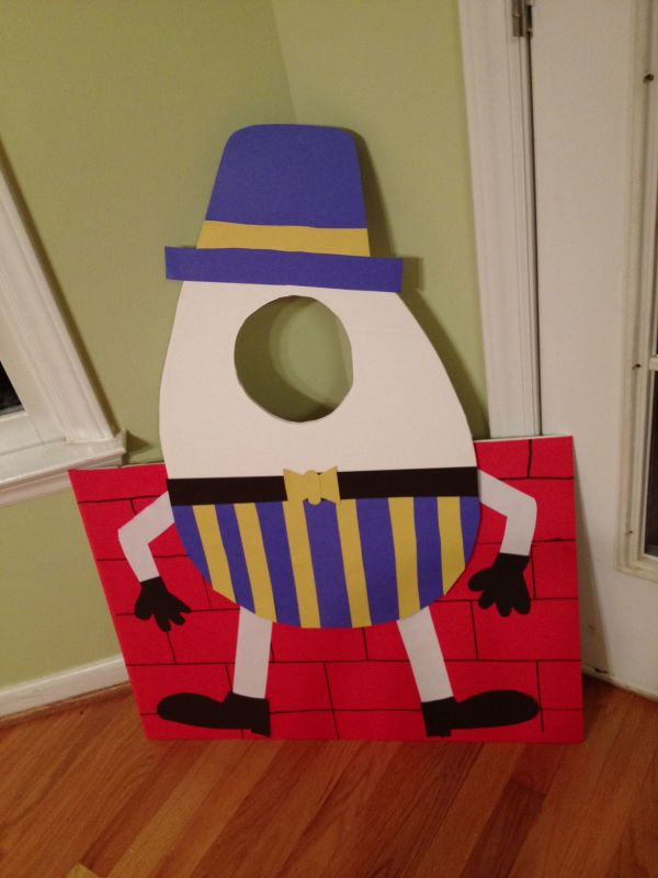 Humpty Dumpty Craft - Google Prek