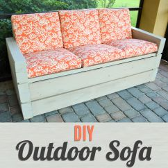 Diy Patio Sofa Plans Italian Modern Sofas Build Your Own Outdoor Furniture With This