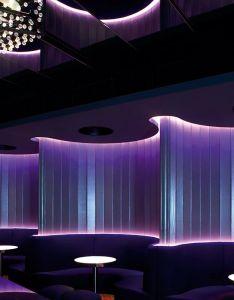 Explore bar club interiors hotel and more also clubbing night illuminating lights booth interior design rh pinterest