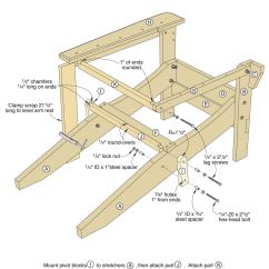 Adirondack Chair Plan Safety 1st High Folding Plans Free Download Find