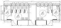 Ada Bathroom Design Commercial Ada Bathroom Layout Car ...