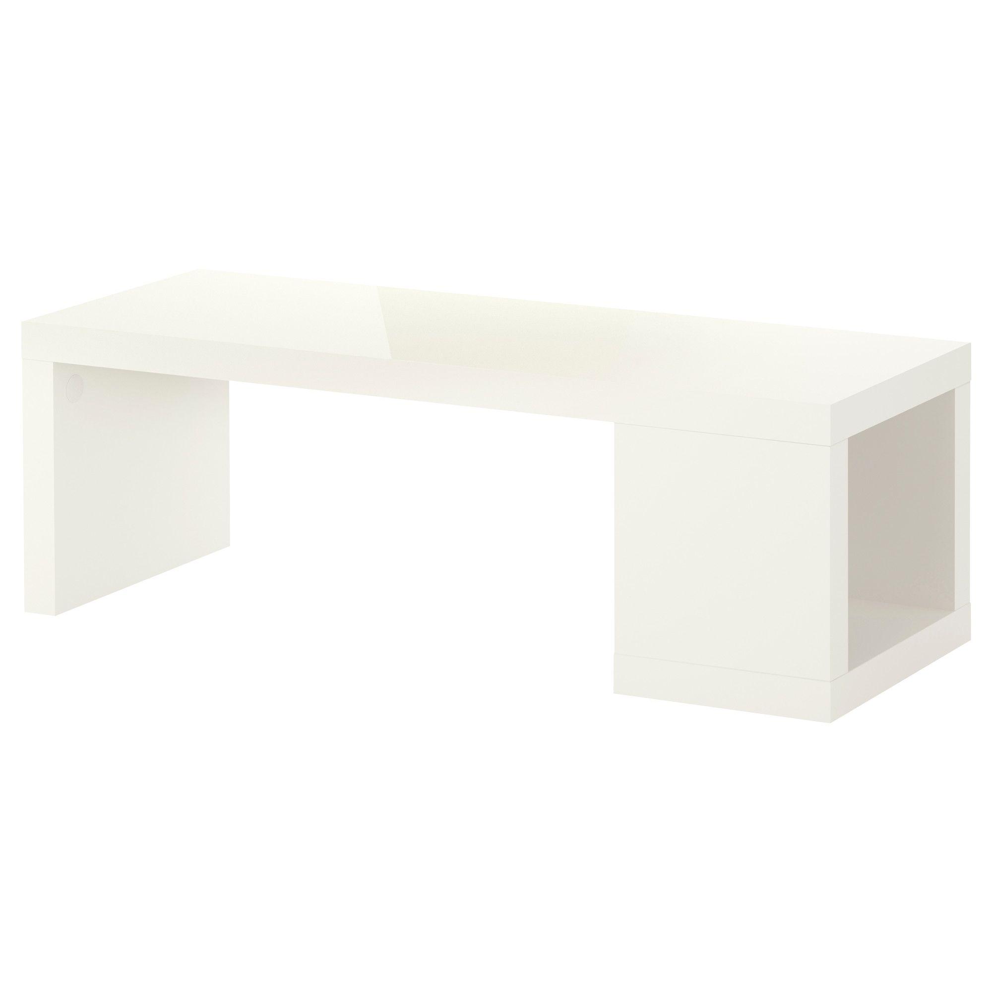 Lack Table Basse Brillant Rouge Ikea