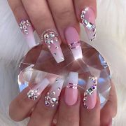 easy and cute diy nail design