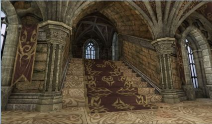 castle interior medieval castles interiors polycount udk inside fantasy minecraft thrones game architecture stairs 3d dark 2009 staircases loket shots