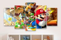 Super Mario And Friends - Childrens - Gaming 5 Piece ...