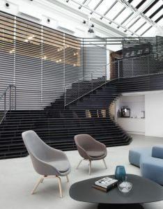 Inside the coolest offices of year also office designs rh pinterest