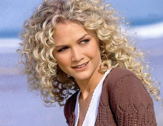 Spiral Curls Hairstyles Posted In Blonde Hairstyles Curly