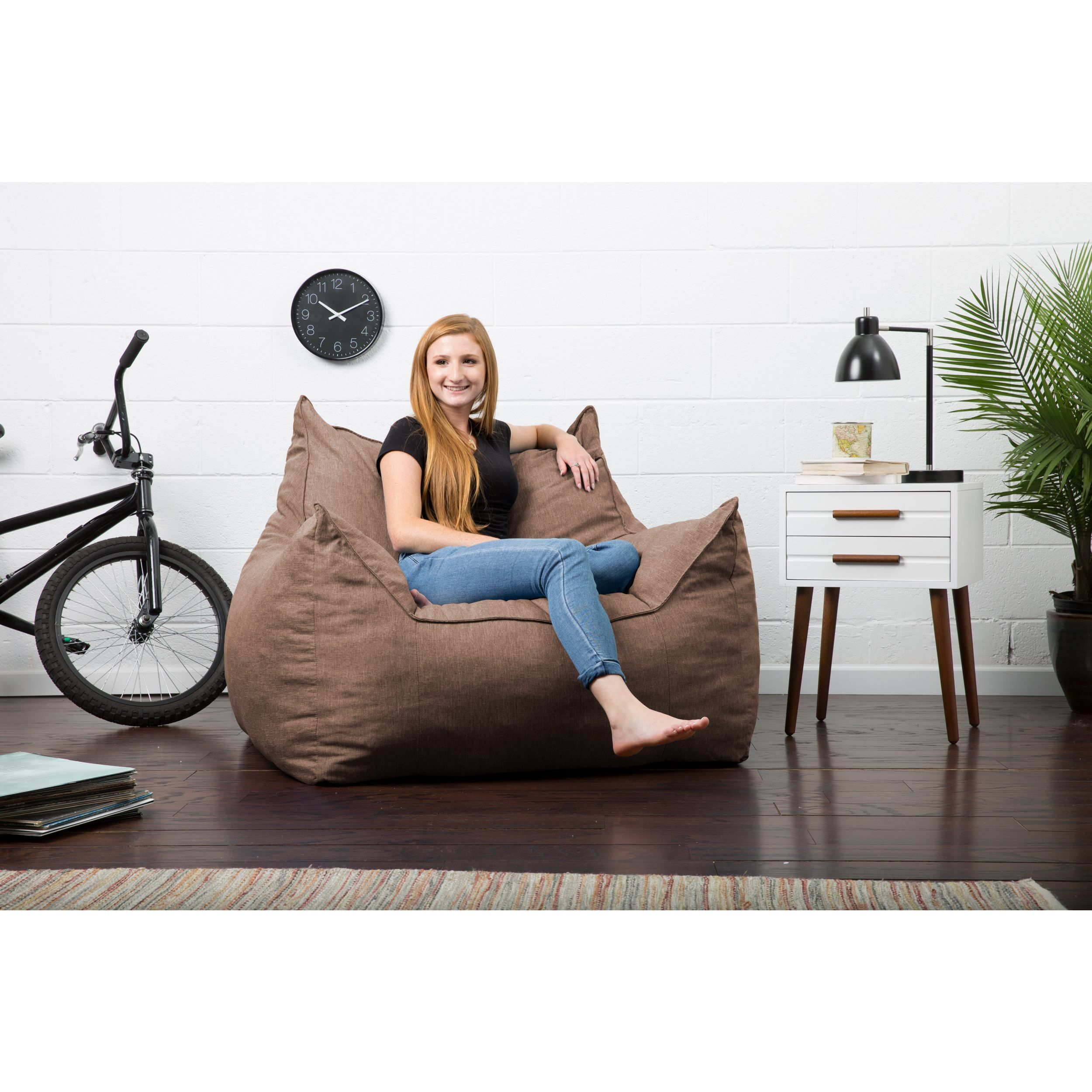 big joe roma lounge chair swivel and sofa comfort research fufsack lux imperial solid