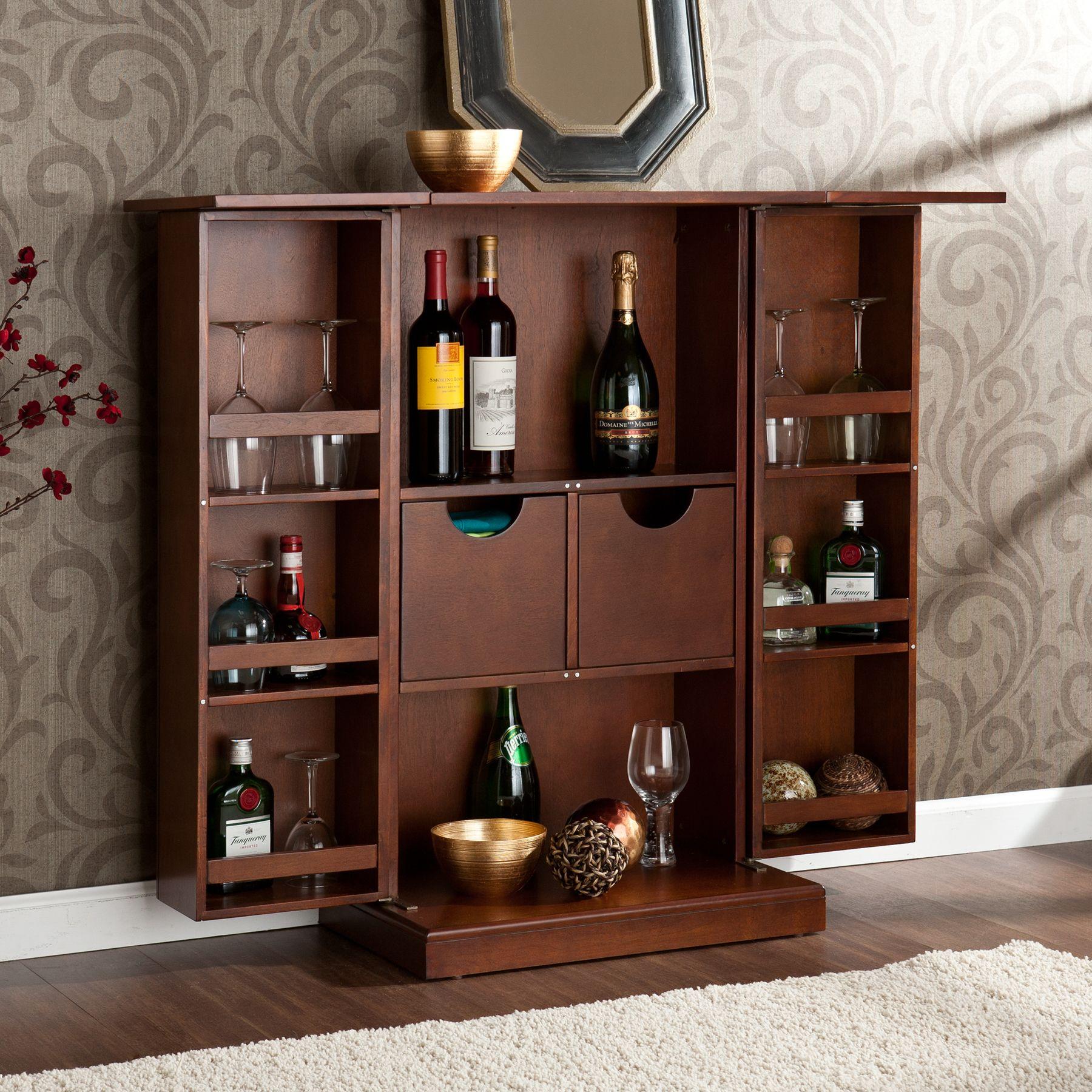 Mini Bar Cabinet Design Ideas  httpwwwthedomainfairycomminibarcabinetdesignideas
