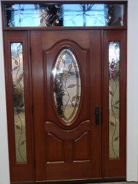front door entry systems   Decorative-door-glass-in-front ...