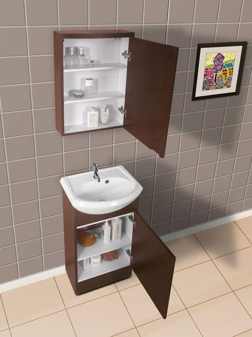 Narrow Bathroom Vanities with 818 Inches of Depth  More Narrow bathroom vanities and Narrow
