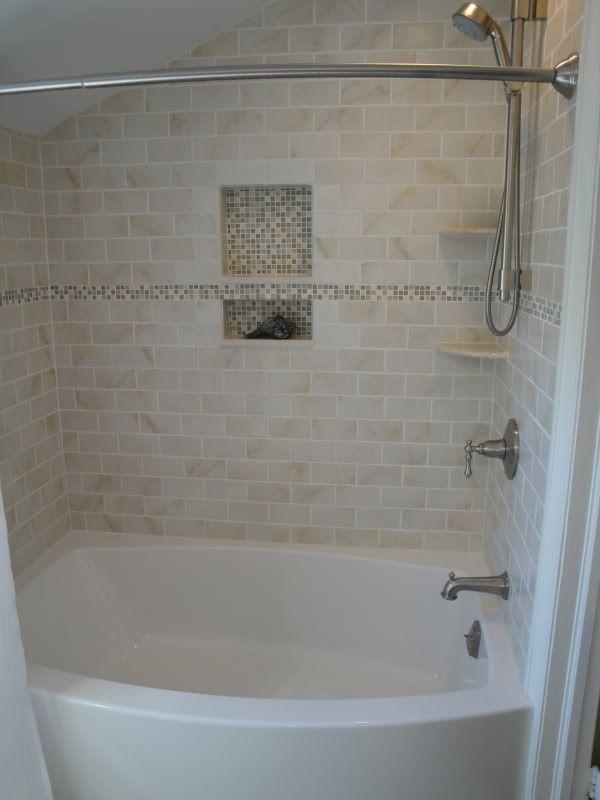 Bathtub Tile Surround On Pinterest Tile Tub Surround