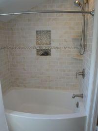 tile bathroom showers | Tiles in bathtub surround ...